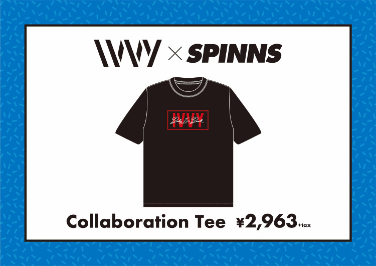 IVVY×SPINNS Collaboration Tee