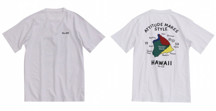 Da-iCE×SPINNS Tシャツ