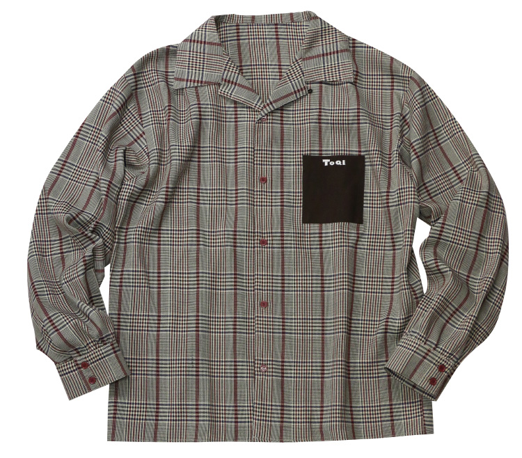 ToQIチェックシャツ